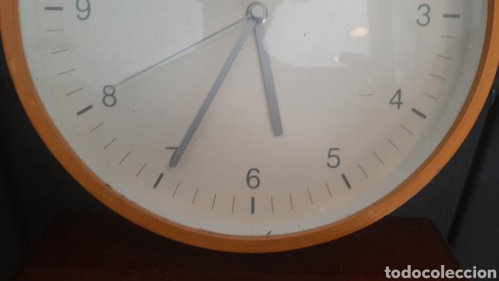Relojes de pared: BONITO RELOJ DE PARED DE MADERA - Foto 4 - 287735513