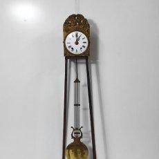 Relojes de pared: RELOJ PARED - MAQUINA MOREZ - PÉNDULO DE LIRA - S. XIX. Lote 287815903