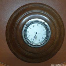 Relojes de pared: RELOJ INGLES DE BARCO. FUNCIONANDO. MECANISMO CUERDA. Lote 288082553