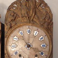 Relojes de pared: RELOJ MOREZ PARA RESTAURAR. Lote 288142193