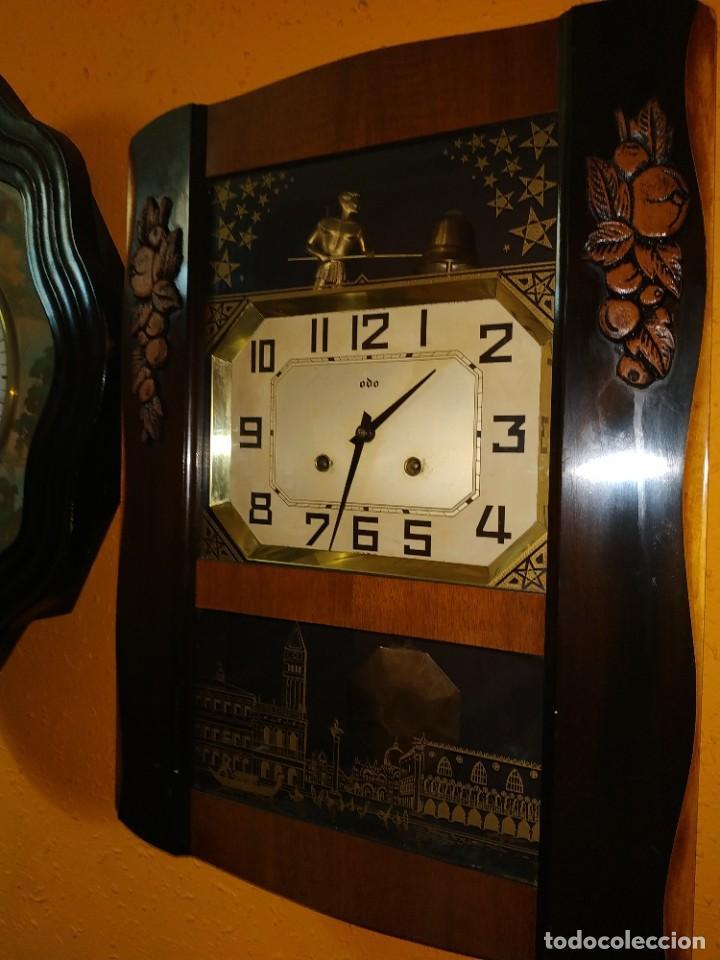 RELOJ DE PARED AUTOMATA (Relojes - Pared Carga Manual)