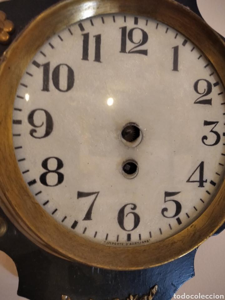 Relojes de pared: ANTIGUO RELOJ FRANCEs - Foto 3 - 288152693