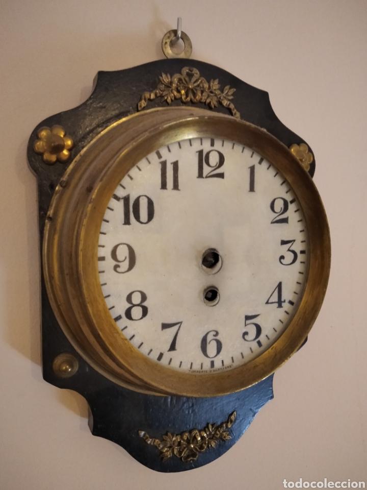 ANTIGUO RELOJ FRANCES (Relojes - Pared Carga Manual)