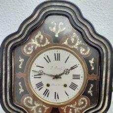 Relojes de pared: RELOJ MOREZ OJO DE BUEY. Lote 288191633