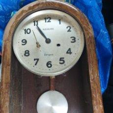 Relojes de pared: ANTIGUO RELOJ DE PARED A RESTAURAR O PIEZAS AÑOS 60. Lote 288378178