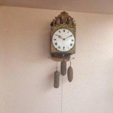 Relojes de pared: RELOJ MOREZ 4 CAMPANAS 3 PESAS CIRCA 1800 1810 FUNCIONA DE MUSEO!!. Lote 289316643