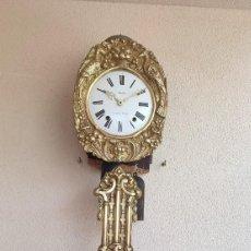 Relojes de pared: RELOJ MOREZ ANTIGUO DE CAMPANA PENDULO REAL MUY DETALLADO BUEN ESTADO FUNCIONANDO ALTA COLECCIÓN. Lote 289452303