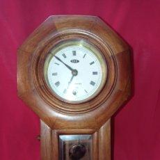 Relojes de pared: RELOJ DE PARED WESMINSTER CON CAJA DE MADERA. Lote 289495828