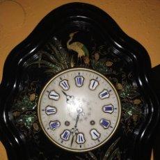 Relojes de pared: RELOJ OJO DE BUEY PINTADO. Lote 289517378