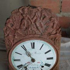Orologi da parete: ANTIGUO RELOJ MOREZ. Lote 292588433