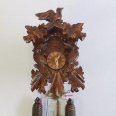 Relojes de pared: EXCELENTE RELOJ CUCO ALEMÁN GRANDE. EN CAJA SIN ESTRENAR.. Lote 293775118
