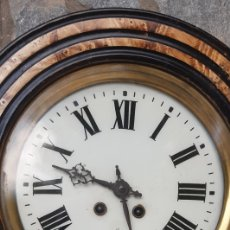 Relojes de pared: RELOJ DE PARET OJO DE BUEY , FUNCIONA PERFECTAMENTE. Lote 294370403