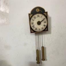 Relojes de pared: RELOJ DE PARED RATERA - OSWALD MAURER EISENBACH - SIGLO XIX - PESAS Y PÉNDULO . RESTAURADO .. Lote 294573708