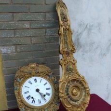 Relojes de pared: PRECIOSO RELOJ MOREZ DE BORDÓN. Lote 295502733