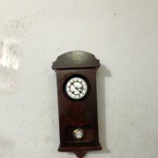 Relojes de pared: RELOJ PARED ALEMÁN TIPO ISABELINO SIGLO .XIX. Lote 295789658