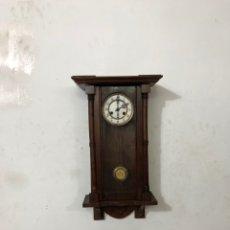 Relojes de pared: RELOJ PARED ALEMÁN TIPO ISABELINO SIGLO .XIX. Lote 295798373