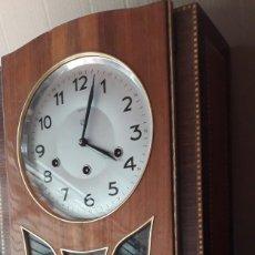 Relojes de pared: MAGNIFICO RELOJ DE PARED ( CUERDA ). Lote 296760063