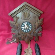 Relojes de pared: RELOJ DE CUCO FABRICADO EN ALEMANIA FUNCIONANDO. Lote 296817098