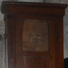 Relojes de pie: CAJA ANTIGUA RELOJ PIE MADERA CASTAÑO . Lote 27435939