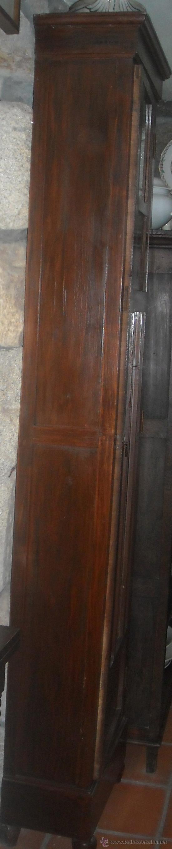 Relojes de pie: CAJA ANTIGUA RELOJ PIE MADERA CASTAÑO - Foto 3 - 27435939