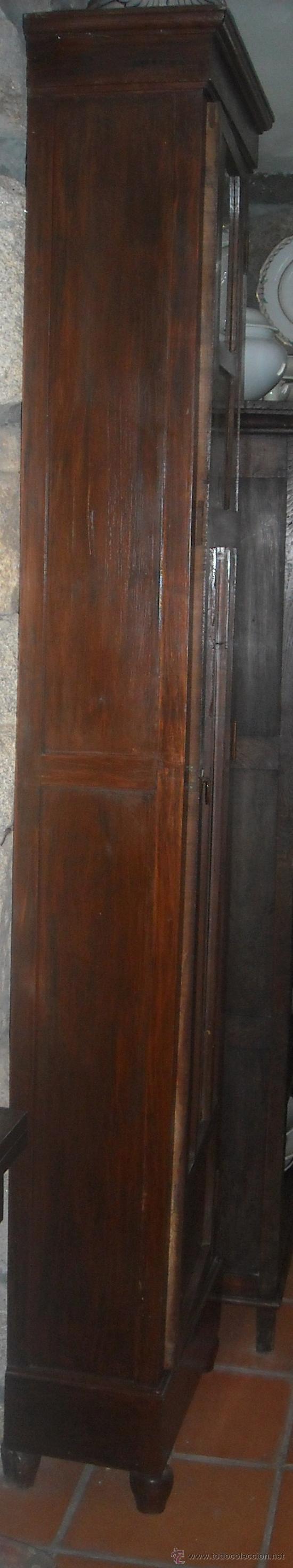Relojes de pie: CAJA ANTIGUA RELOJ PIE MADERA CASTAÑO - Foto 4 - 27435939