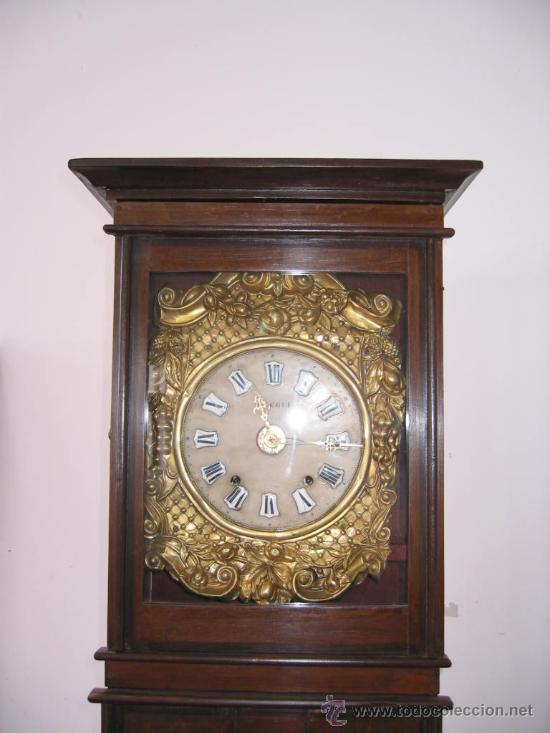 Relojes de pie: RELOJ ANTIGUO DE PIE MOREZ (siglo XIX) - Foto 2 - 27287194