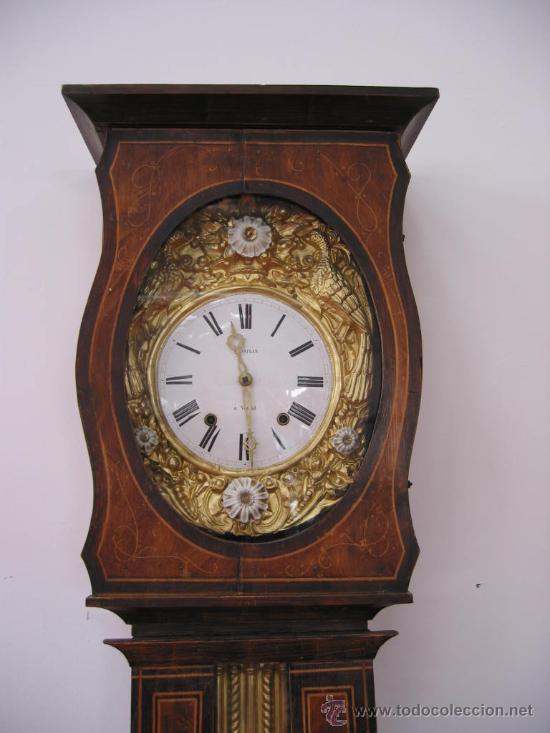 Relojes de pie: RELOJ ANTIGUO DE PIE MOREZ (siglo XIX) - Foto 2 - 27287195