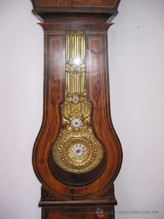 Relojes de pie: RELOJ ANTIGUO DE PIE MOREZ (siglo XIX) - Foto 3 - 27287195