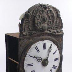 Relojes de pie: RELOJ MOREZ DE UNA CAMAPANA SIN PESOS NI PÉNDULO,. Lote 23605972