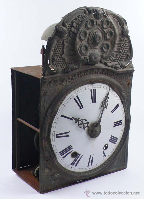 Relojes de pie: RELOJ MOREZ de una camapana sin pesos ni péndulo, - Foto 7 - 23605972