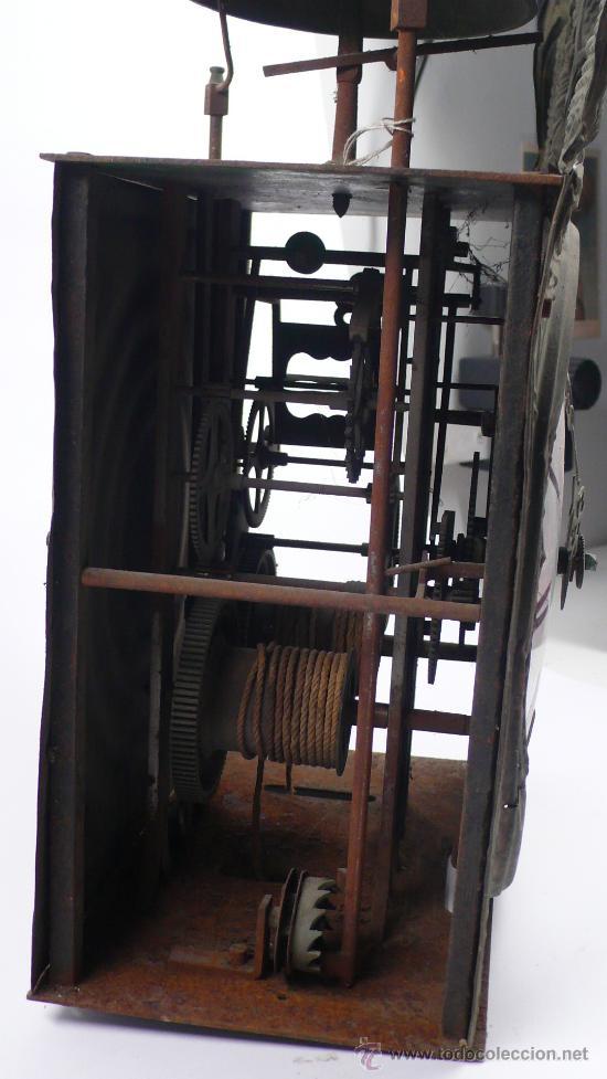 Relojes de pie: RELOJ MOREZ de una camapana sin pesos ni péndulo, - Foto 6 - 23605972