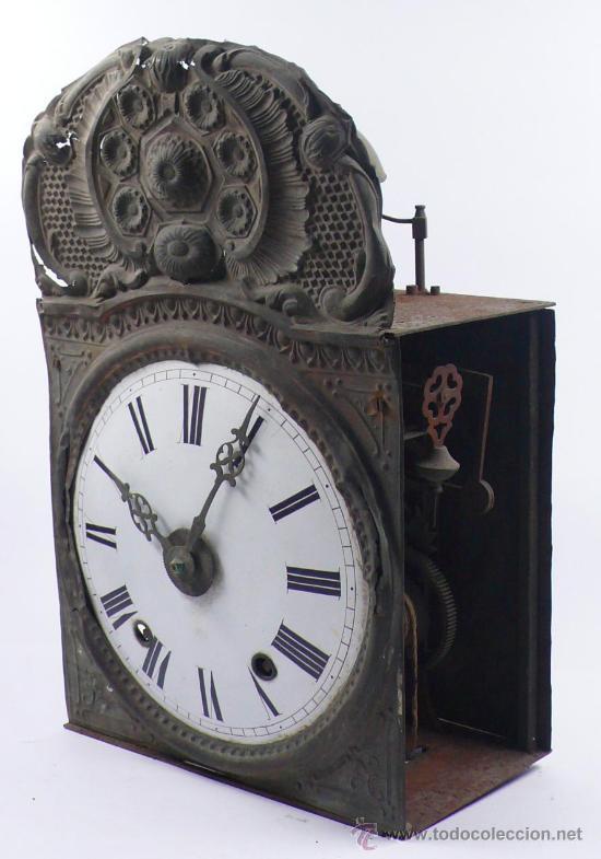 Relojes de pie: RELOJ MOREZ de una camapana sin pesos ni péndulo, - Foto 2 - 23605972