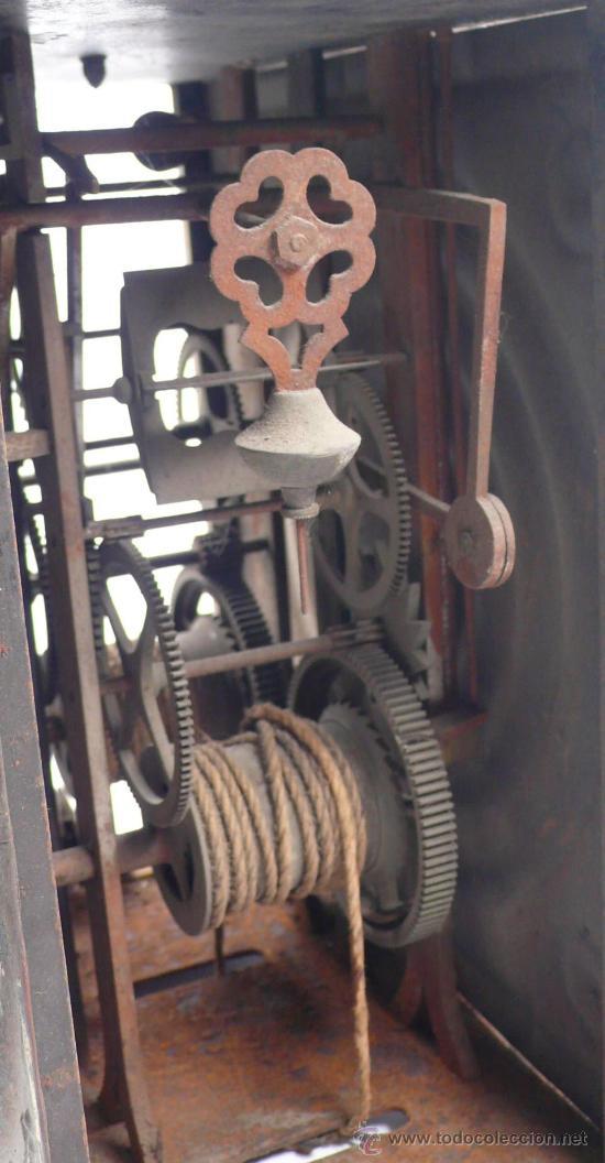 Relojes de pie: RELOJ MOREZ de una camapana sin pesos ni péndulo, - Foto 5 - 23605972