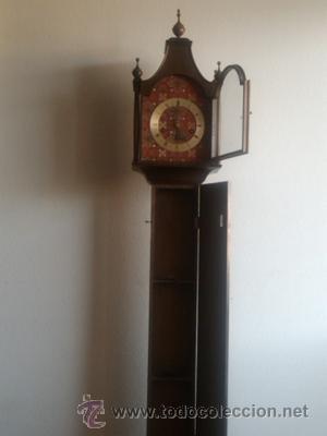 ANTIGUO RELOJ CARILLON DE PIE MARCA JUNGHANS (Relojes - Pie Carga Manual)