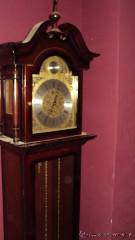 Relojes de pie: Reloj de Antesala de la marca Tempus Fugit en madera de Caoba - Foto 3 - 24519948