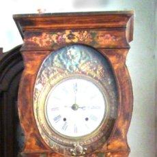Relojes de pie: BONITO RELOJ MOREZ DE DOBLE MOVIMIENTO. Lote 31111928