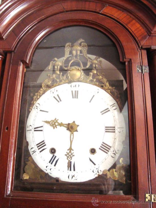 Relojes de pie: Esplendido y señorial reloj Morez LUIS XV - Foto 2 - 31368866