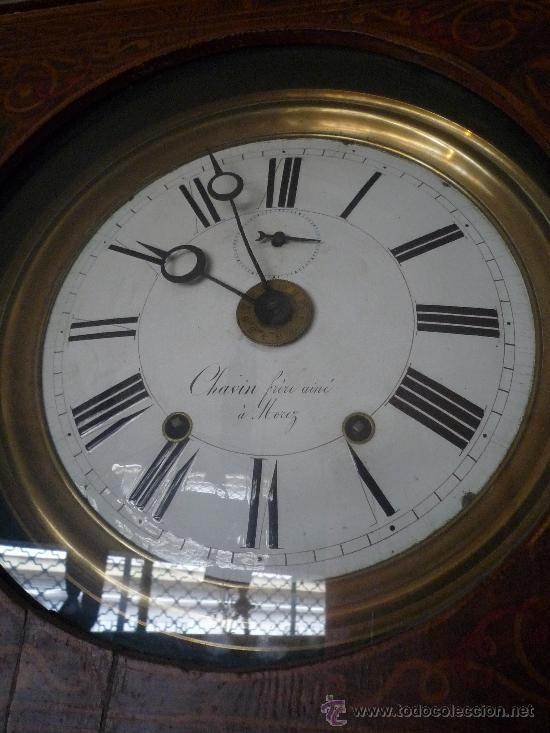 Relojes de pie: Reloj Morez, circa 1850 con bonita caja - Foto 9 - 31629871