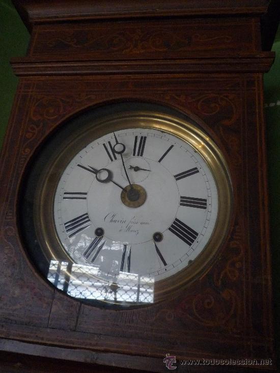 Relojes de pie: Reloj Morez, circa 1850 con bonita caja - Foto 10 - 31629871