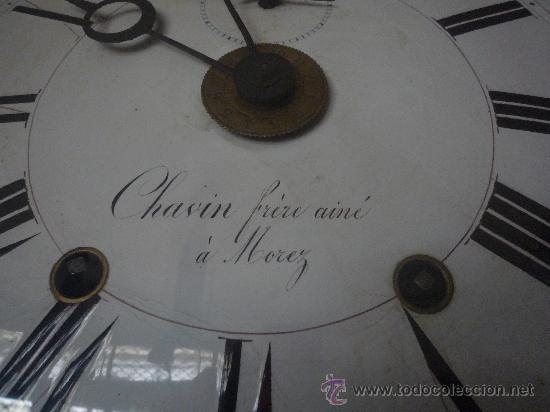Relojes de pie: Reloj Morez, circa 1850 con bonita caja - Foto 12 - 31629871