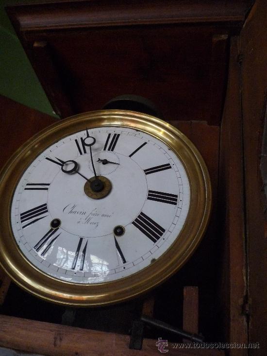 Relojes de pie: Reloj Morez, circa 1850 con bonita caja - Foto 11 - 31629871