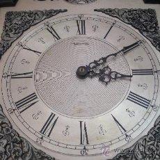Relojes de pie: ANTIGUO RELOJ DE PENDULO SONIDO CARILLÓN CON PENDULO FUNCIONANDO PERFECTAMENTE. Lote 31738732