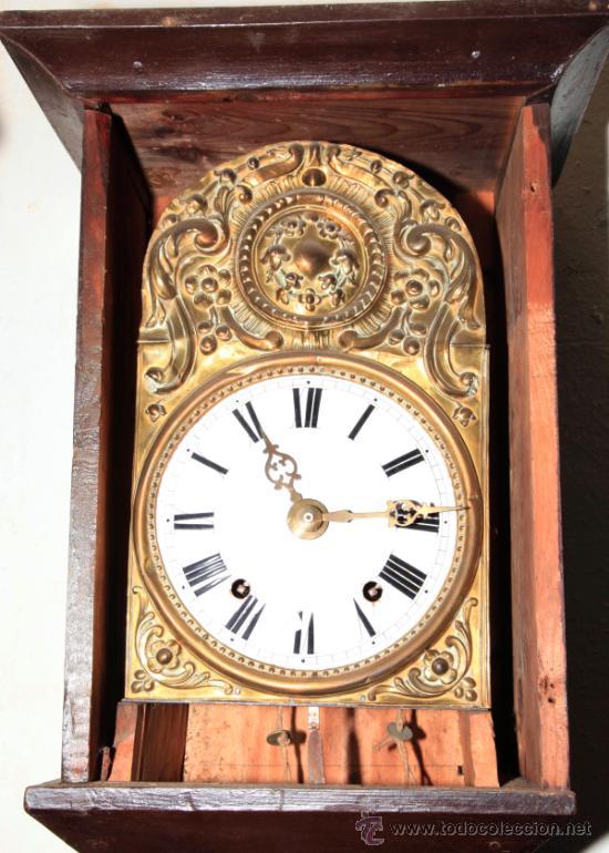 Relojes de pie: Reloj morez de una campana s.XIX con caja, sin pesos , . - Foto 3 - 34568065