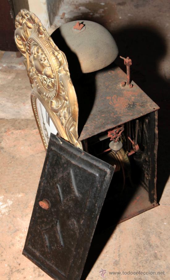 Relojes de pie: Reloj morez de una campana s.XIX con caja, sin pesos , . - Foto 5 - 34568065