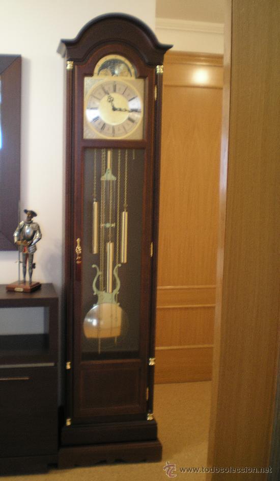 Reloj de pendulo de pie carr comprar for Relojes de pared antiguos de pendulo