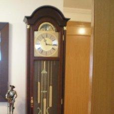 Relojes de pie: RELOJ DE PENDULO DE PIE - ANTESALA.SONERIA CARRILLON-WESTMISTER. FASES LUNARES. NUEVO.. Lote 29372251