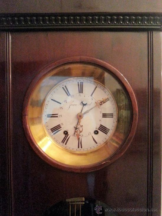 Relojes de pie: ANTIGUO RELOJ MOREZ - Foto 2 - 35069040