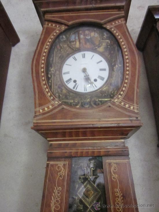 Reloj de pared morez pendulo policromado con au comprar for Reloj de pared con pendulo