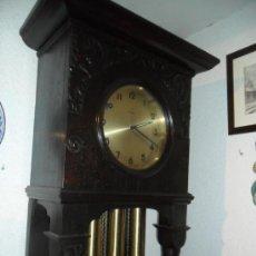 Relojes de pie: RELOJ DE PIÉ MAQUINARIA JUNGHANS -GERMANY PRINCIPIOS DEL SIGLO XX - FUNCIONANDO. Lote 37633273