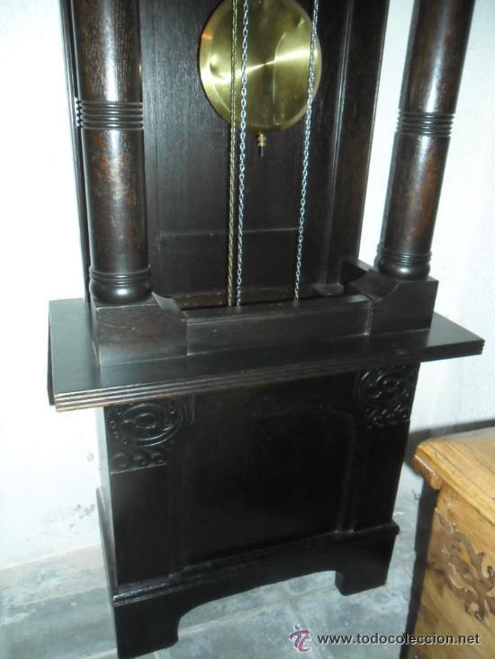 Relojes de pie: RELOJ DE PIÉ MAQUINARIA JUNGHANS -GERMANY PRINCIPIOS DEL SIGLO XX - FUNCIONANDO - Foto 4 - 37633273